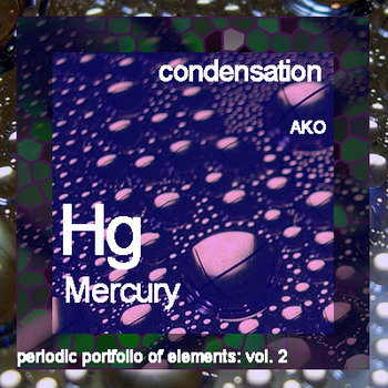 periodic portfolio of elements: condensation cover art