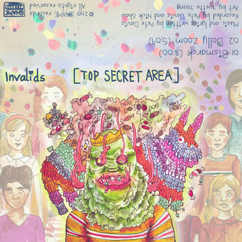 Top Secret Area EP cover art