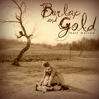 Burlap and Gold cover art