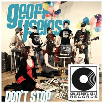 Geoff Useless - DON'T STOP cover art