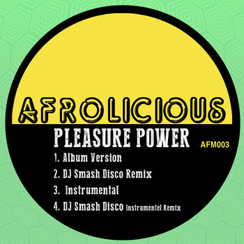 Pleasure Power EP cover art