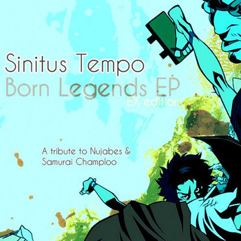 Born Legends EP cover art