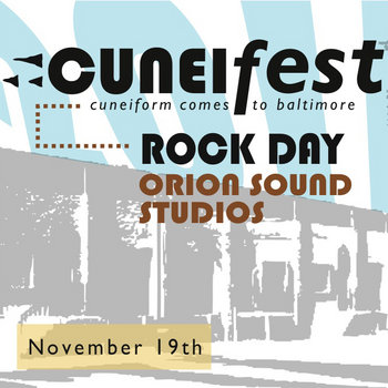 Cuneifest 2011 - Rock Day cover art
