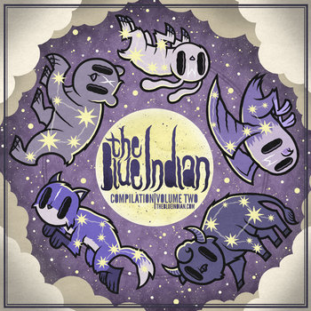 The Blue Indian Compilation Vol. 2 cover art