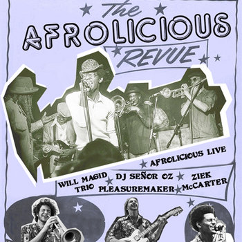 Afrolicious Revue - Rarities, Remixes and Live Versions: The First Funky Compilation cover art