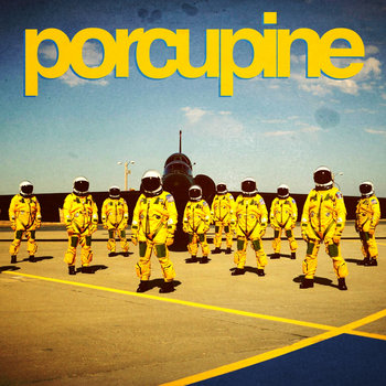 "PORCUPINE /A*STAR split 7"" cover art"