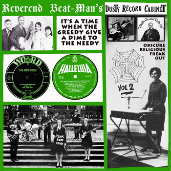 MJCR012 - Reverend Beatman&#39;s Dusty Cabinet vol.2 cover art