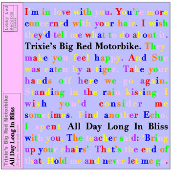 All Day Long In Bliss cover art