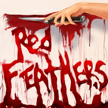RED FEATHERS (Black Vinyl) cover art