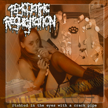 Stabbed in the eyes with a crackpipe cover art