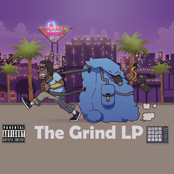 The Grind Mixtape LP cover art