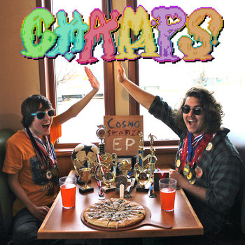 CHAMPS EP cover art