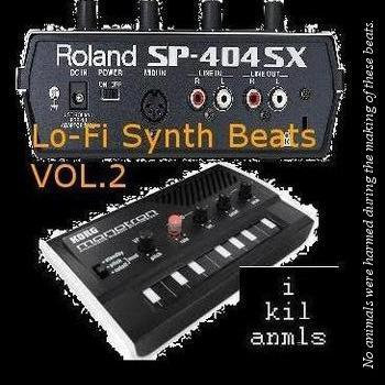 lo-fi synth beats vol.2 cover art