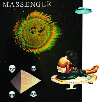 "Massenger / Fright Eye Split 7"" cover art"