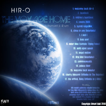 The Voyage Home Instrumental Album cover art
