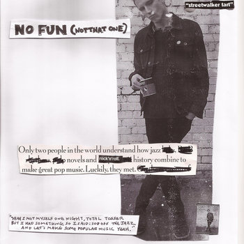 No fun (not that one) cover art