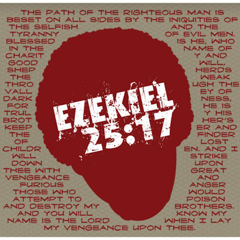 Ezekiel 25-17 cover art