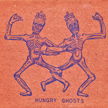 HUNGRY GHOSTS (EP) 1997 cover art