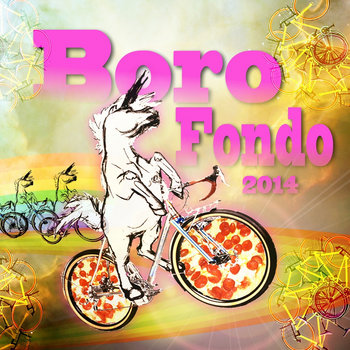 Boro Fondo 2014's Shred Gnar Mix cover art