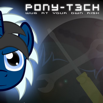 PONY-T3CH: Wub At Your Own Risk cover art