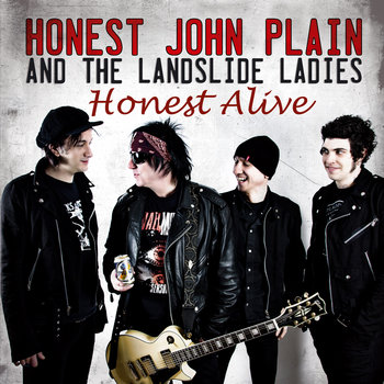 Honest Alive cover art