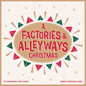 A Factories & Alleyways Christmas cover art
