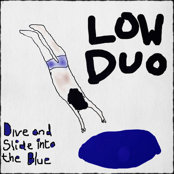 Dive and Slide into the Blue LP cover art