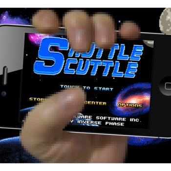 Shuttle Scuttle OST cover art
