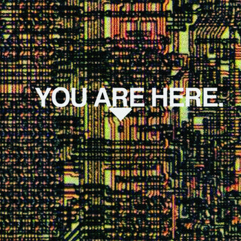 YOU ARE HERE. cover art