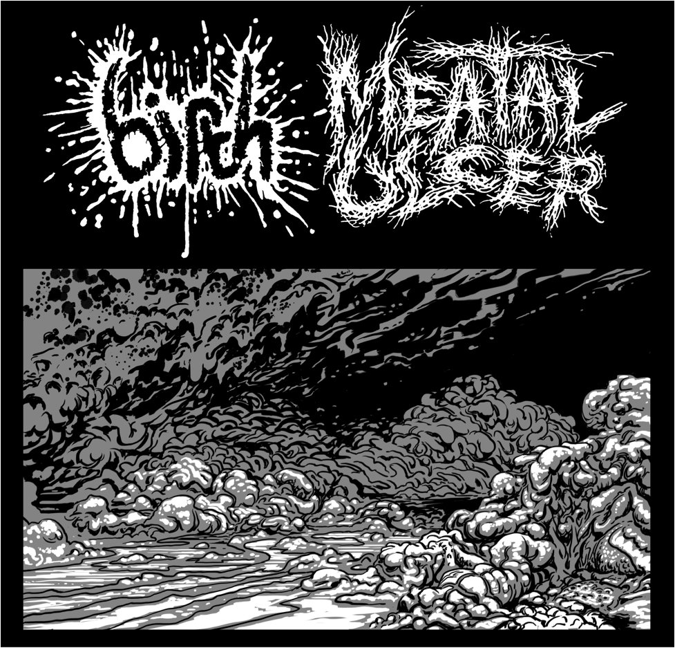 Meatal Ulcer & Birth - Split (2013)
