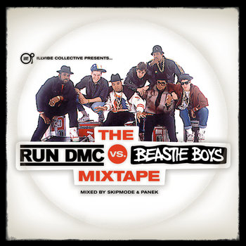 The Run DMC Vs. Beastie Boys Mixtape cover art