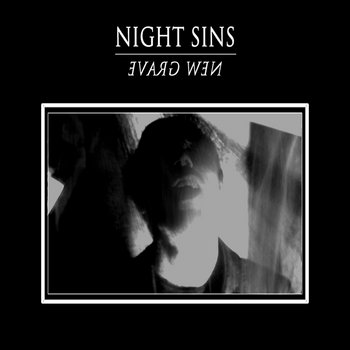NIGHT SINS - New Grave LP cover art