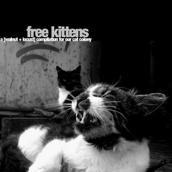free kittens - a [walnut + locust] compilation for our cat colony cover art
