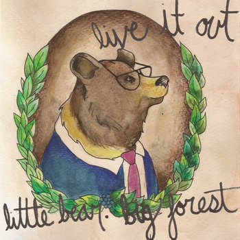 Little Bear. Big Forest cover art