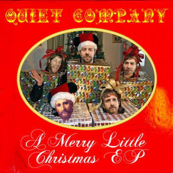 A Merry Little Christmas EP cover art