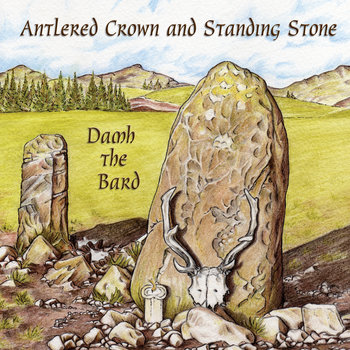 Antlered Crown and Standing Stone cover art