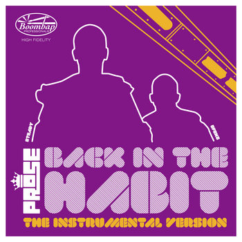 Back In The Habit Instrumentals cover art