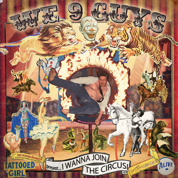 I Wanna Join the Circus EP cover art