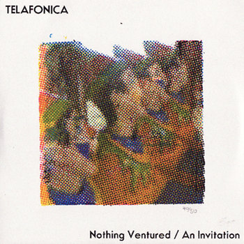 "Nothing Ventured/An Invitation (7"" single) cover art"
