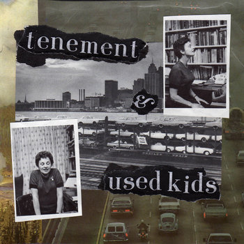 TENEMENT / USED KIDS SPLIT SINGLE cover art