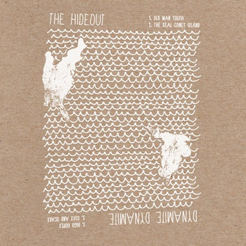 "The Hideout and Dynamite Dynamite Split 7"" cover art"
