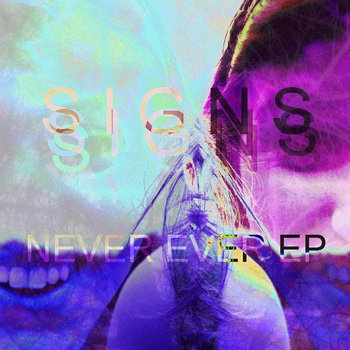 NEVER EVER EP cover art