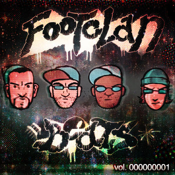 FOOTclan BEATS vol. 1 cover art