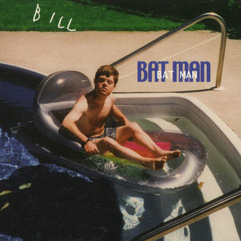 BAT MAN cover art