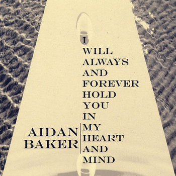 I Will Always & Forever Hold You In My Heart & Mind cover art