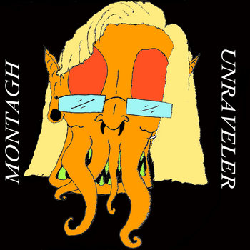 MONTAGH/UNRAVELER SPLIT cover art