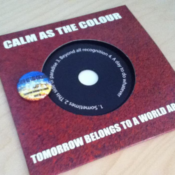 Tomorrow Belongs to a World Apart EP cover art