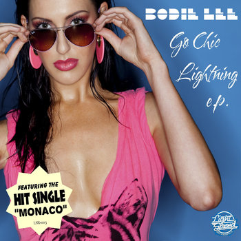 "Bodie Lee ""Go Chic Lightning EP"" cover art"