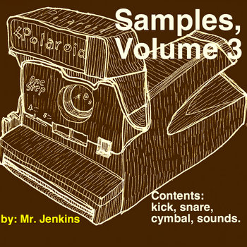 Samples, Volume 3: Drum Kit cover art
