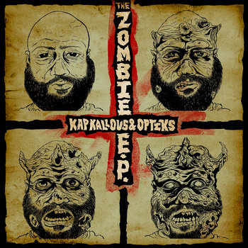 The Zombie EP cover art